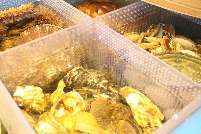 北海道産海鮮